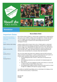 Term 2 Week 6 Russell Lea Public School Newsletter